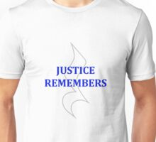 JR in Grey/Blue Unisex T-Shirt