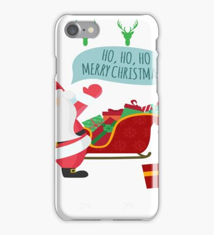 Ugly Christmas- Santa Ugly christmas sweat 1b iPhone Case/Skin
