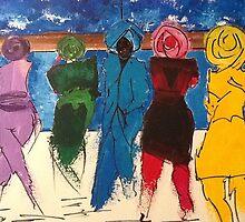 Women In Turbans by Vermeer55