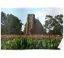 Seven Hills Monastery,South Australia. Poster