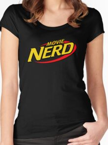 Movie Nerd Women's Fitted Scoop T-Shirt