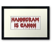 HANNIGRAM CANON Framed Print