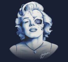 Marilyn Monroe - Live Fast by Jeff Arnolds  Art