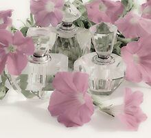 Petunias And Perfume - Soft by Sandra Foster