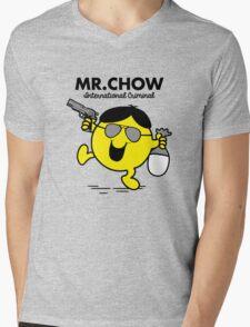 Mr. Chow Mens V-Neck T-Shirt