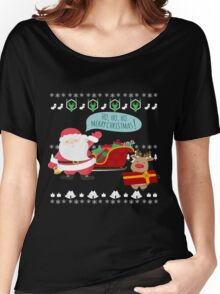 Ugly Christmas- Santa Ugly christmas sweat 1c Women's Relaxed Fit T-Shirt