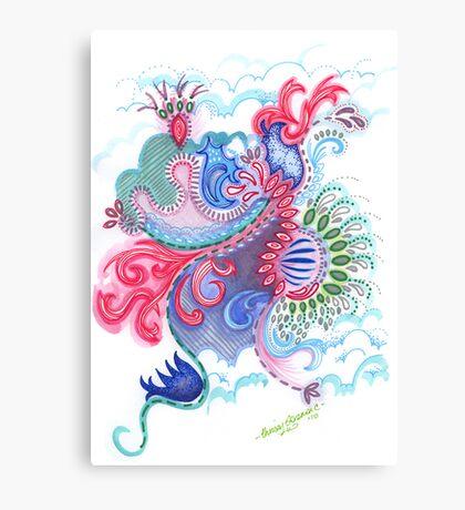 Aquatic Caretta Canvas Print