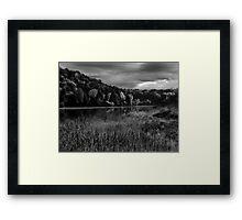 Lakeside Park Framed Print