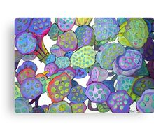 Bulbous Blossoms Canvas Print