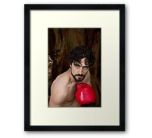 Shane V - The Fighter Framed Print