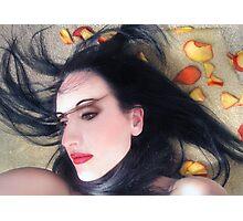 The Beautiful Prisoner - Self Portrait Photographic Print
