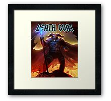 DEATH GOAT Cursed to Die Framed Print