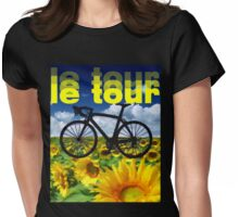 le tour Womens Fitted T-Shirt