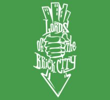 'Lords of the Brick City' (w) One Piece - Short Sleeve