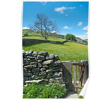 Little Wooden Gate (Yorkshire Dales) Poster