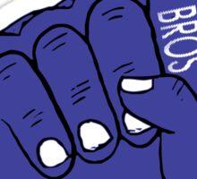 usa warriors foam hand by rogers bros Sticker