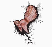 'Fantail Inkspray' by STUDIO 88 TARANAKI NZ
