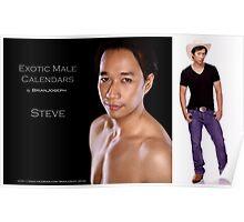 Calendar Cover: Steve I Poster