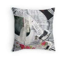 Death is a Carnival Ride Throw Pillow
