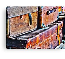 Travel Chests Canvas Print