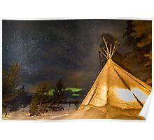 Aurora Tent Poster
