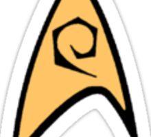 Star Trek Engineering Officer Badge Sticker