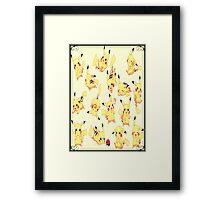 Pikachu shirt, poster, iphone case, etc. Framed Print