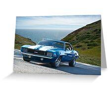 1969 Camaro R/S 383 Stroker Greeting Card