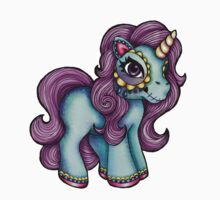 Day of the Dead Unicorn - My Little Pony by HungryDesigns