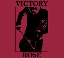 Victory Rose in Black Long Sleeve T-Shirt