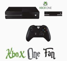 Xbox One fan shirt by Kerrisaurus