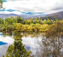 Derwent River, Tasmania by Elaine Teague