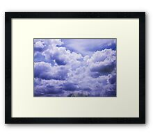Gorgeous Clouds Framed Print