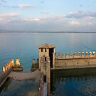 Lake Garda Panoramic Sunset View by kirilart