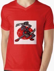 LankyNinja Mens V-Neck T-Shirt