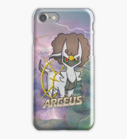 Arceus Case ft. Rayquaza and Mewtwo iPhone Case/Skin