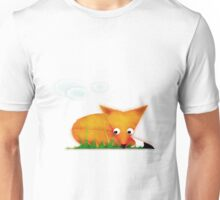 Sleepy Little Fox Unisex T-Shirt