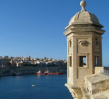 Senglea's Watch Tower by fajjenzu