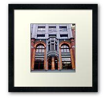 Street Facade 1 Framed Print