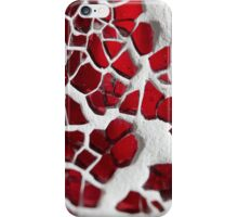 Mosaic - Red iPhone Case/Skin
