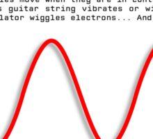 Oscillator Series: Sine Sticker