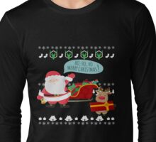 Ugly Christmas- Santa Ugly christmas sweat 1e Long Sleeve T-Shirt