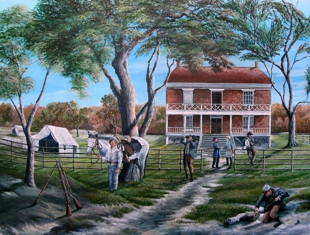 The Last Handshake...General Grant, General Lee. by Daniel Butler