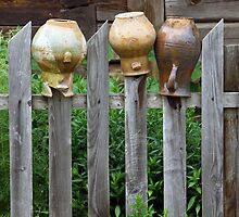Old broken jars by Cebas