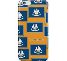 Smartphone Case - State Flag of Louisiana - Horizontal IV iPhone Case/Skin