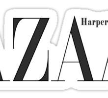 Harper's Bazaar Sticker