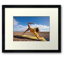 Yogini Yoga Framed Print