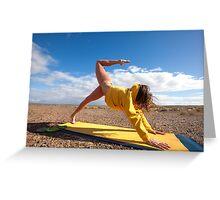 Yogini Yoga Greeting Card