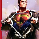 Man of Steel by racPOP Cases