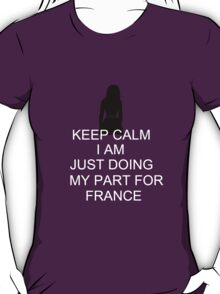 Keep Calm France T-Shirt
